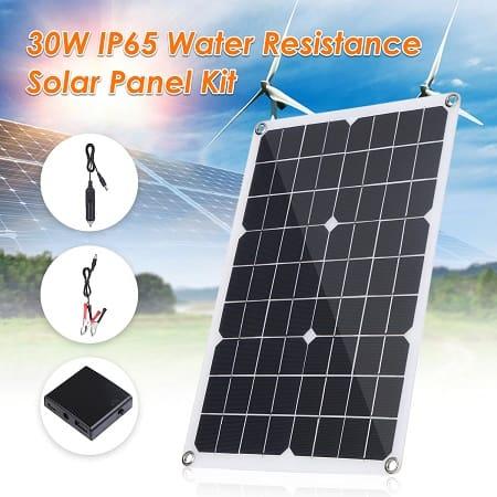 Painel solar de 30W por 17,06€