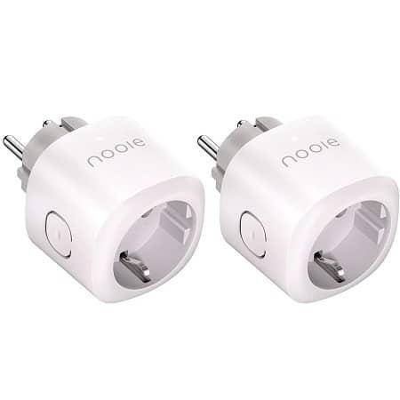 2 x Smart Plug Compatível com Amazon Alexa, Echo, Google Home a 14,44€