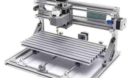 Mini fresadora gravadora impressora de madeira com 3 eixos