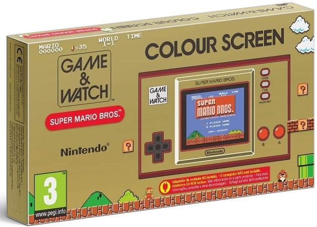 Oferta Amazon! 2 em 1 Game and Watch Retro Super Mario Bros desde Espanha a 39,99