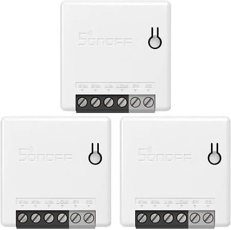 3 interruptores inteligente Sonoff compatíveis com Google Home, Nest IFTTT e Alexa só 21,44€.