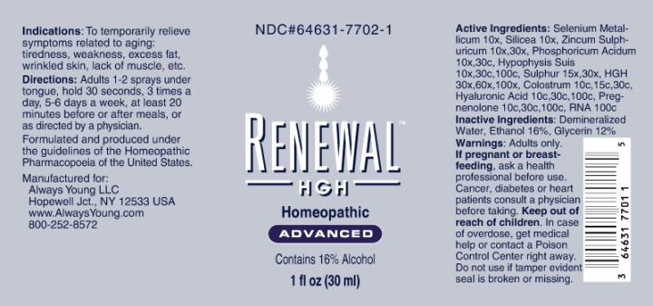 Renewal HGH Advanced