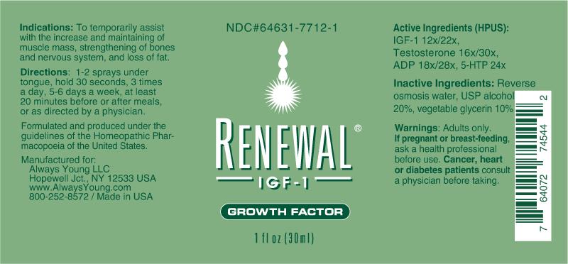 Renewal IGF-1