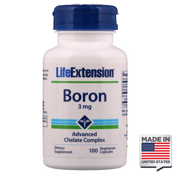 Boro quelato life extension