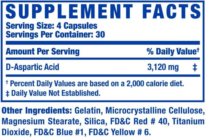 acido aspartico d-aa