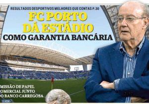 Desastre financeiro leva FC Porto a hipotecar o estádio.