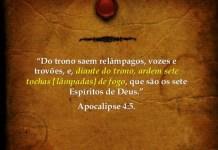 O que são os Sete Espíritos de Deus no Apocalipse