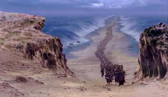 Travessia do povo de Israel no mar vermelho