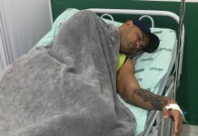Brasil ora por goleiro Bruno que foi envenenado e está em estado grave