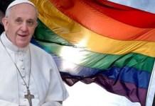 Papa Francisco apoia união civil homossexual