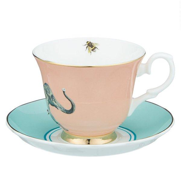 Yvonne Ellen Elephant Teacup and Saucer set_Back