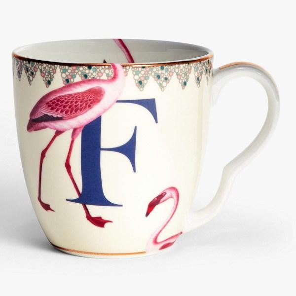 Yvonne Ellen Alphabet Mugs - F