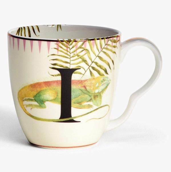 Yvonne Ellen Alphabet Mugs - I