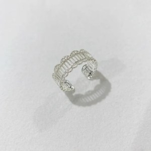 Bcharmd Isabella Adjustable Ring in Silver