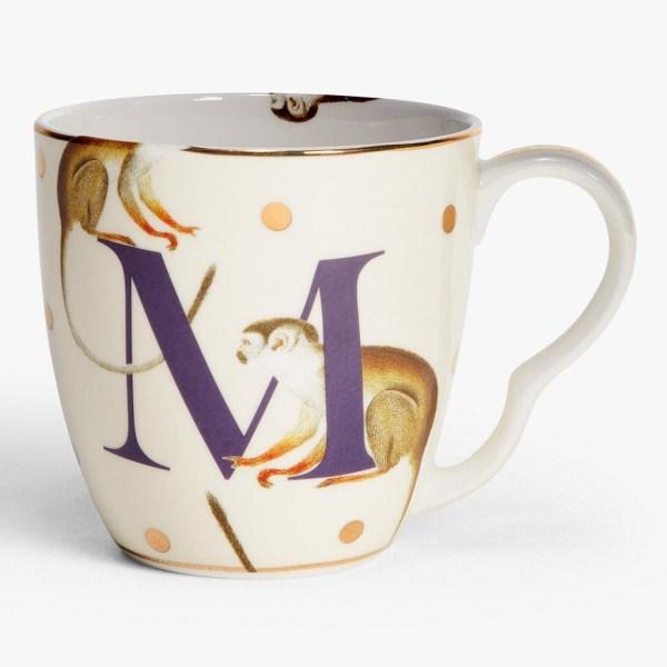Yvonne Ellen Alphabet Mugs - M