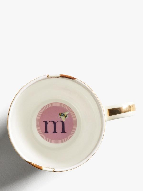 Yvonne Ellen Alphabet Mugs - M Inner