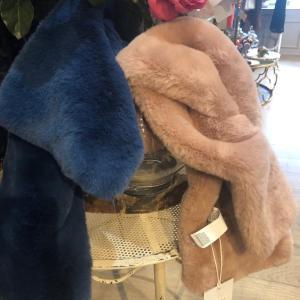 Rino & Pelle Faux Fur Scarf