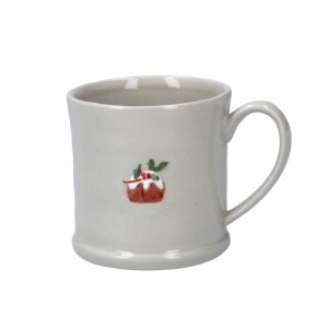 Gisele Graham Ceramic Mini Christmas Pudding Mug