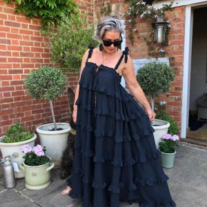 Devotion Black Maxi Dress