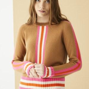 Lorene Pullover Camel KnitLorene Pullover Camel Knit