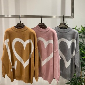 Love Printed Knit Jumpers