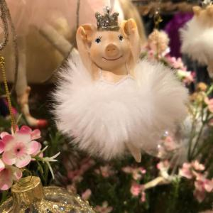 Ballerina Pig Christmas Tree Decoration