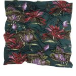 North Indian Lily Silk Scarf