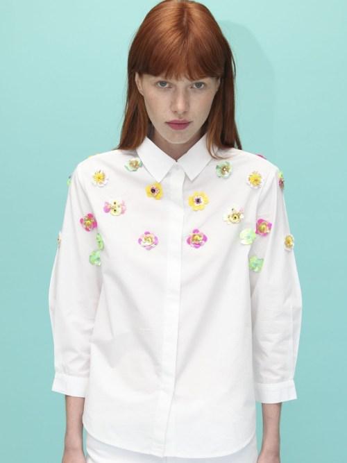 Sophie White Shirt