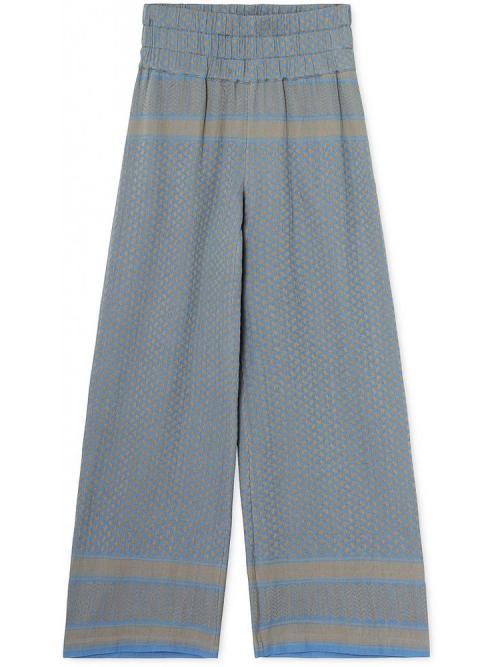 Cecilie Copenhagen Trousers in Blue