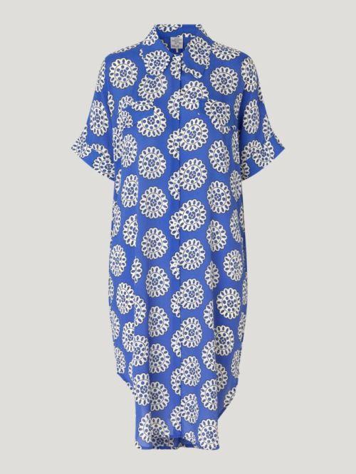 Anelise Dress in Blue