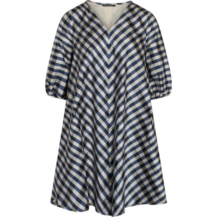Parsley Allure dress in Light Blue Check