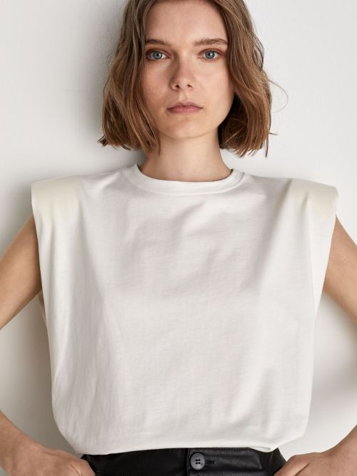Jersey Box T-Shirt in White