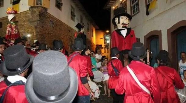 Desfile do bloco Zé Pereira dos Lacaios (Foto: Luiza Carvalho / Zé Pereira dos Lacaios)