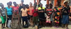 Haiti: colocamos um tijolinho de esperança