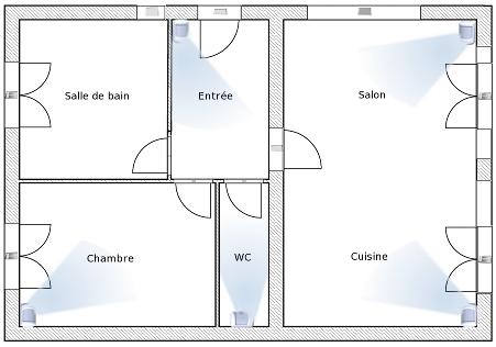 astuce viter les faux d clenchements de votre alarme maison de geek. Black Bedroom Furniture Sets. Home Design Ideas