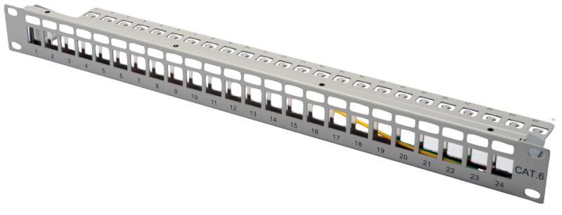 Panneau de brassage modulaire RJ45 19