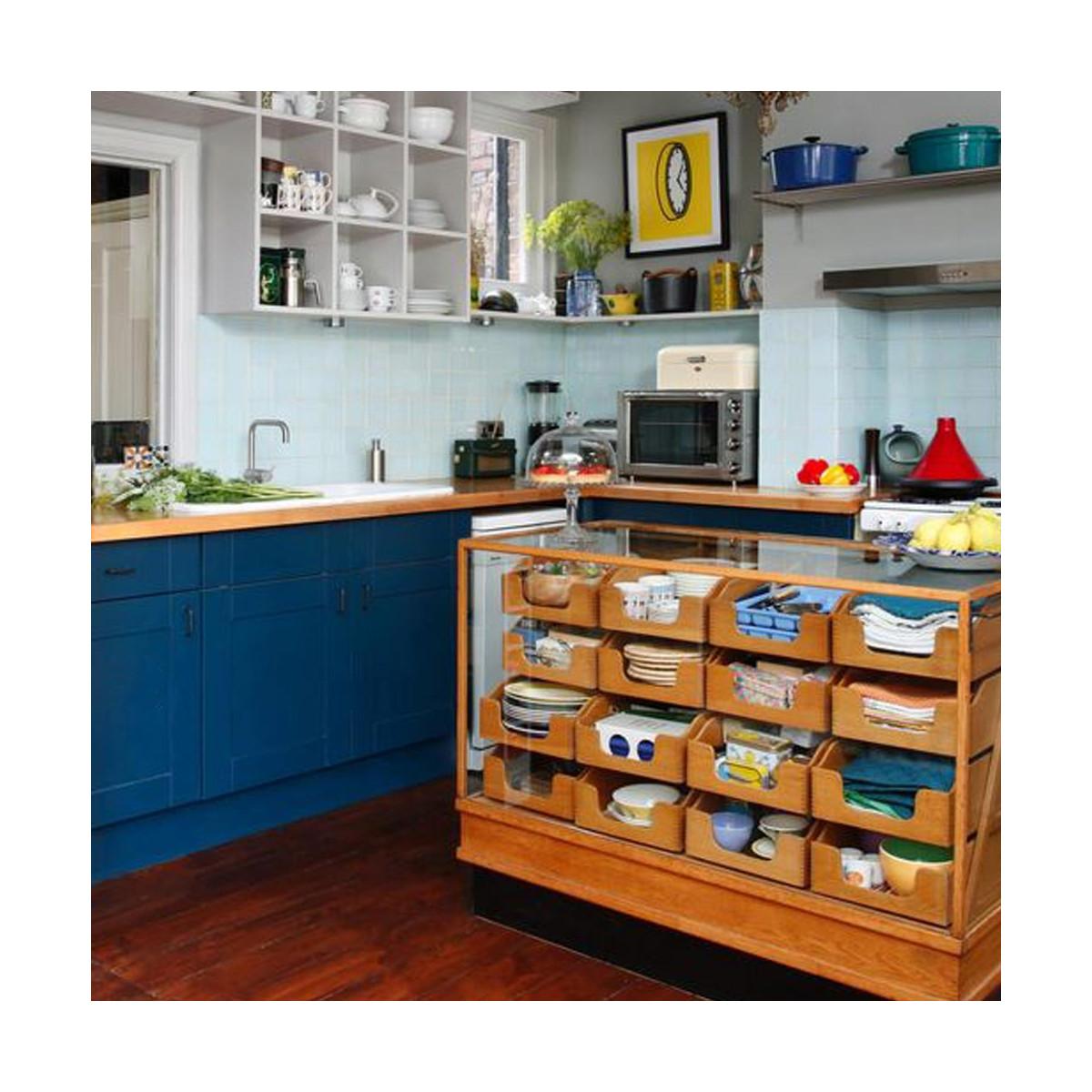 rénovation plan de travail cuisine béton ciré