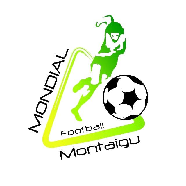 Logo Mondial Minime Football Montaigu