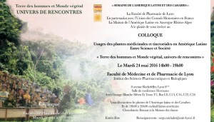 Invitation numérique colloque Pharmacie