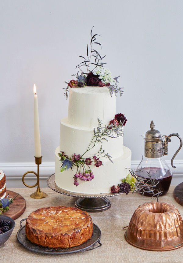 Beautiful Homemade Wedding Cakes And Treats At Maison May Maison May