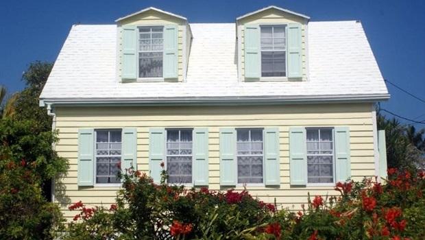Les maisons Cape Cod des Bahamas