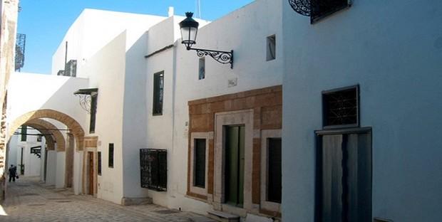 Les maisons de la Mdina de Tunis