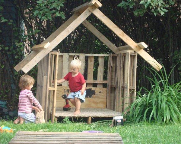 mobilier pour enfant avec des palettes