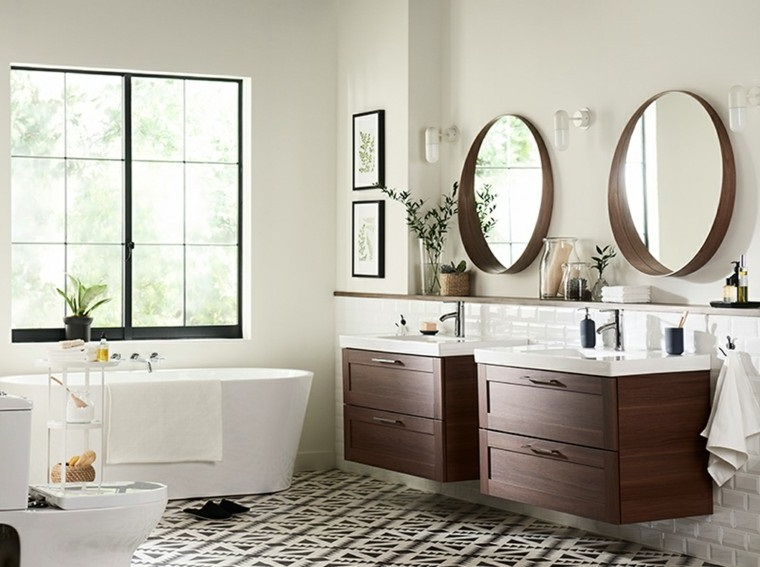 salle de bain moderne 30 idees