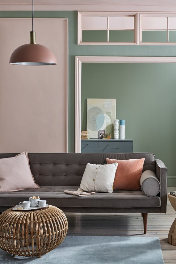 rose poudre idees deco inspirations