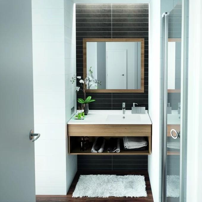 salle de bain de 2m2