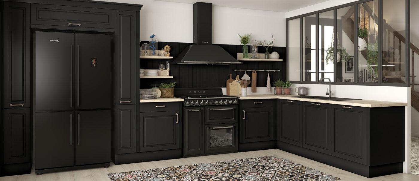 cuisine noire 19 modeles tendance