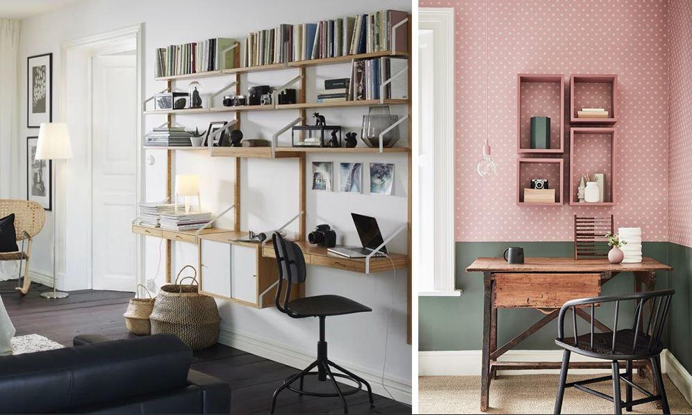 Espace Bureau Dans Le Salon 17 Idees Pratiques D Amenagement