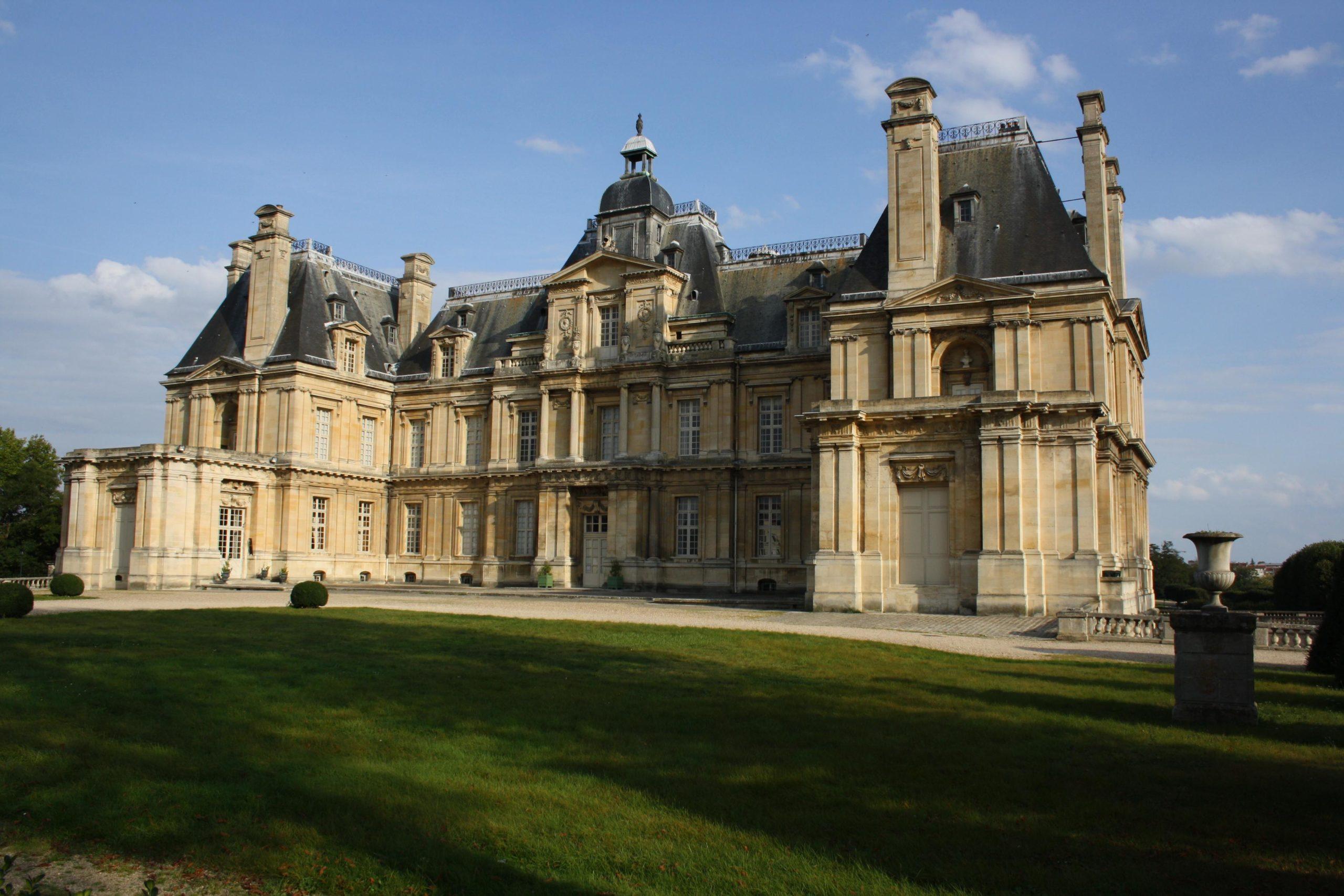 Plan Chateau Maisons Laffitte - Maison Plan