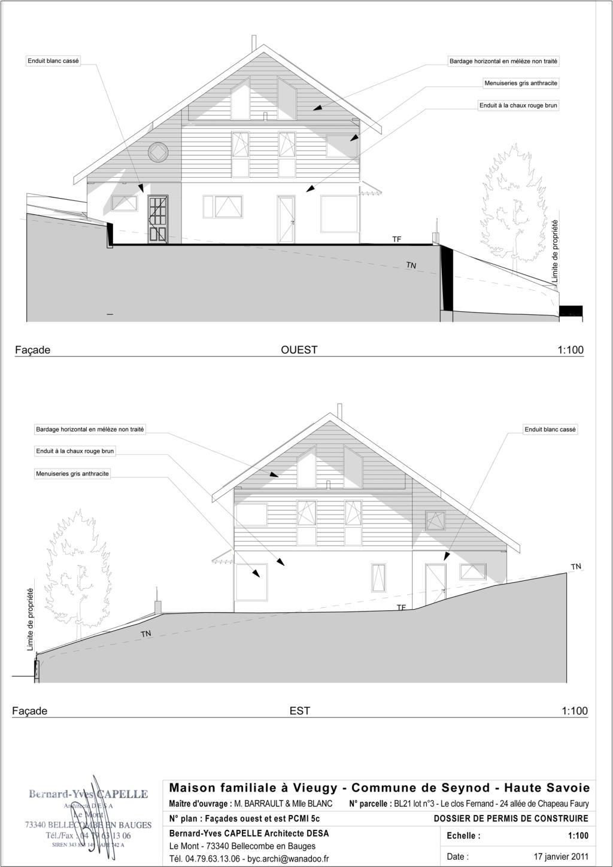 Maison Nezrouge Permis De Construire Plans Des